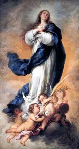 religioese-gemaelde - Inmaculada Concepción de Aranjuez - Murillo, Bartolome Esteban