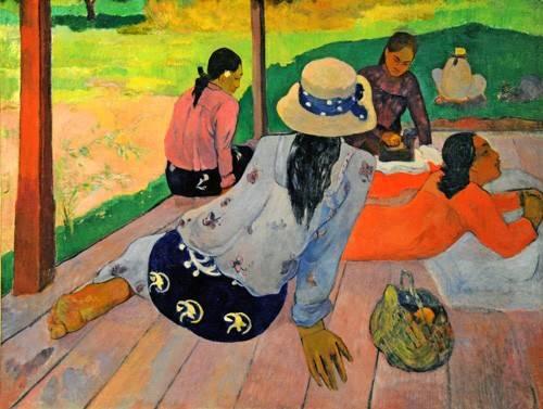 portraetgemaelde - La sieste - Gauguin, Paul