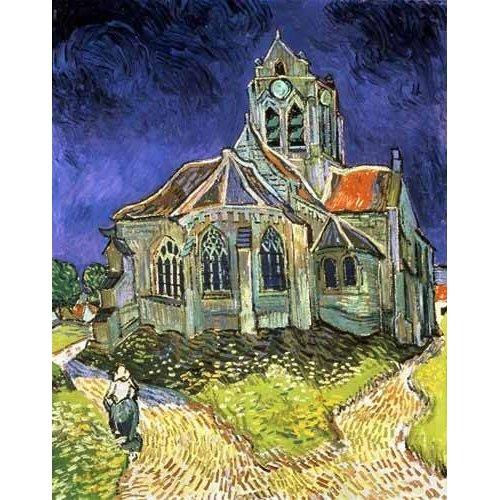 Die Kirche in Auverssur-Oise