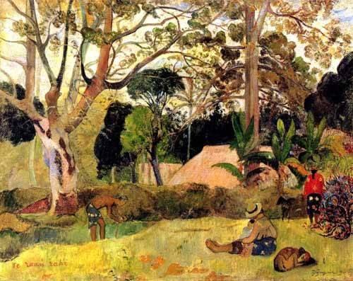 landschaften-gemaelde - Te raaú rahi - Gauguin, Paul