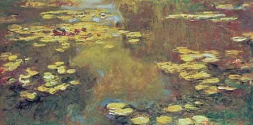 landschaften-gemaelde - Les Nymphéas, 1919 - Monet, Claude