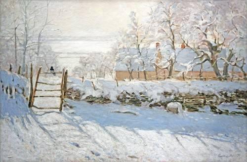 landschaften-gemaelde - Die Elster, 1868 - Monet, Claude