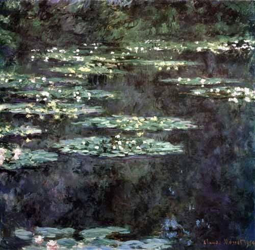 landschaften-gemaelde - Nymphéas, 1904 - Monet, Claude