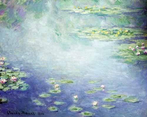 landschaften-gemaelde - Wasserlilien (Nymphéas) - Monet, Claude