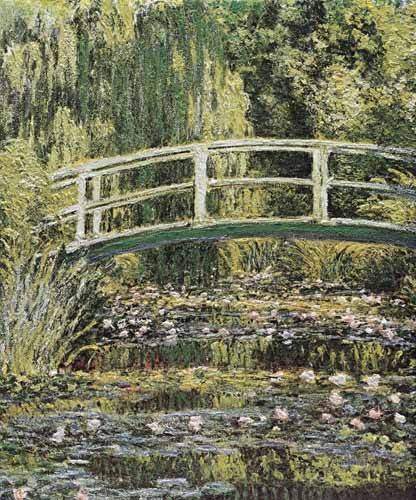 landschaften-gemaelde - Le Bassin aux nymphéas - Monet, Claude