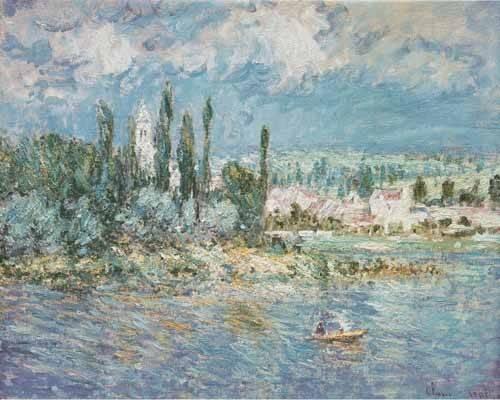 seelandschaft - Thunderstorms - Monet, Claude