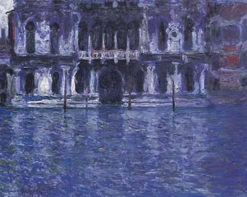 landschaften-gemaelde - Le Palazzo Contarini - Monet, Claude