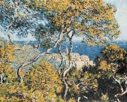 landschaften-gemaelde - Bordighera, 1884 - Monet, Claude