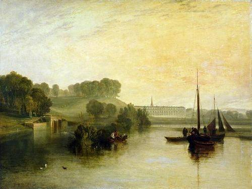seelandschaft - Petworth, Sussex, The Sea of the Earl of Egremont - Turner, Joseph M. William