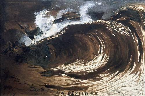 seelandschaft - My Destiny - Hugo, Victor
