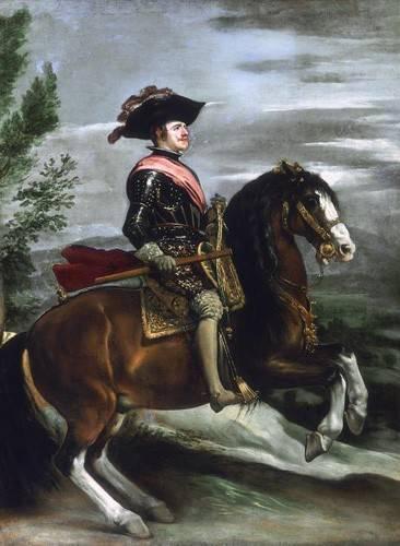 portraetgemaelde - Felipe IV, Rey de España - Velazquez, Diego de Silva
