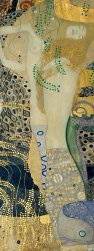 portraetgemaelde - Wasserschlangen - Klimt, Gustav