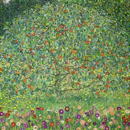landschaften-gemaelde - Apfelbaum I, Apple Tree- I, 1912 - Klimt, Gustav