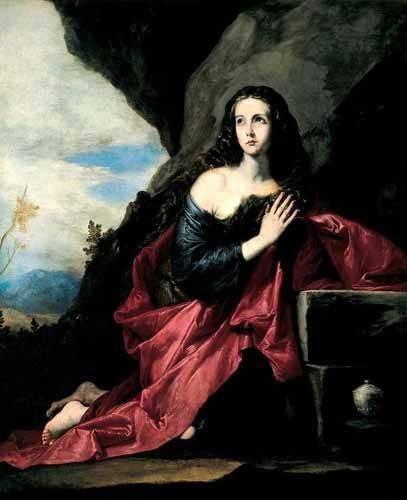 religioese-gemaelde - Maria Magdalena, Penitente - Ribera, Jose de