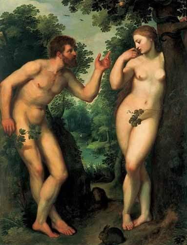 religioese-gemaelde - Adán y Eva - Rubens, Peter Paulus