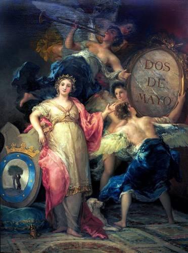 portraetgemaelde - Alegoría de la Villa de Madrid - Goya y Lucientes, Francisco de