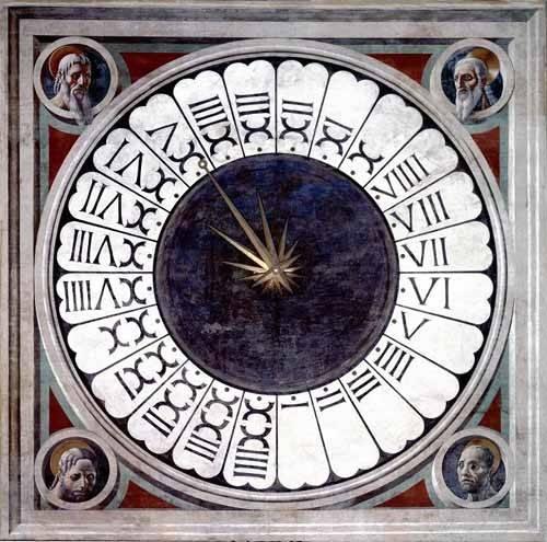 religioese-gemaelde - Reloj Canónico - Uccello, Paolo