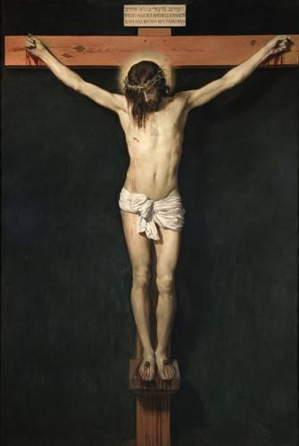religioese-gemaelde - Cristo Crucificado - Velazquez, Diego de Silva