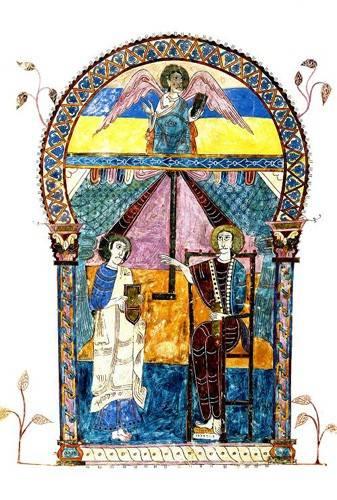 religioese-gemaelde - Beato de Liébana, codice de Gerona - _Anonym Spanien