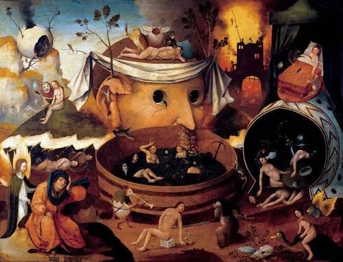 portraetgemaelde - La vision de Tondal - Bosco, El (Hieronymus Bosch)