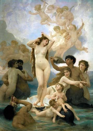 portraetgemaelde - El nacimiento de Venus - Bouguereau, William