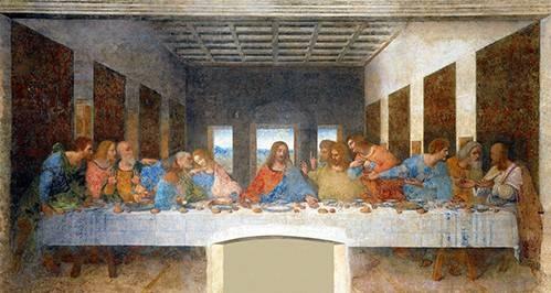 religioese-gemaelde - La Ultima Cena - Vinci, Leonardo da