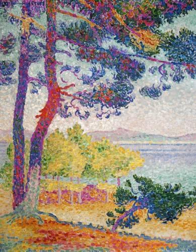 landschaften-gemaelde - Afternoon at Pardigon, 1907 - Cross, Henri Edmond