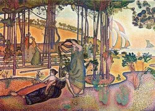 landschaften-gemaelde - L'Air du Soir - Cross, Henri Edmond