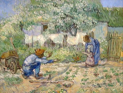 portraetgemaelde - Erste Schritte - Van Gogh, Vincent
