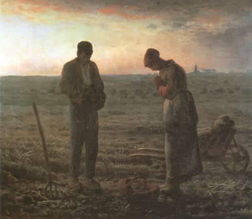 religioese-gemaelde - L'Angélus, 1857-1859 - Millet, Jean François