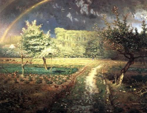 landschaften-gemaelde - Le Printemps, 1868-1873 - Millet, Jean François