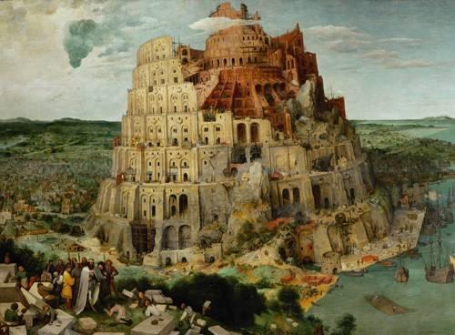 religioese-gemaelde - La Tour de Babel - Bruegel