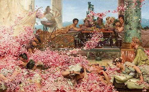 portraetgemaelde - Die Rosen von Heliogabalus - Alma-Tadema, Lawrence