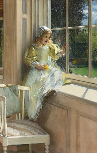 portraetgemaelde - Sonnenschein - Alma-Tadema, Lawrence