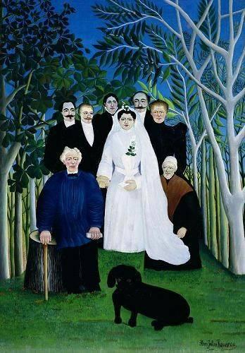 portraetgemaelde - The Wedding Party, 1904-05 - Rousseau, Henri