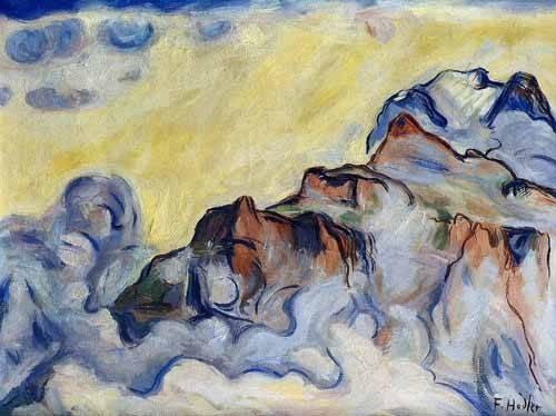 abstrakte-gemaelde - Landscape - Hodler, Ferdinand