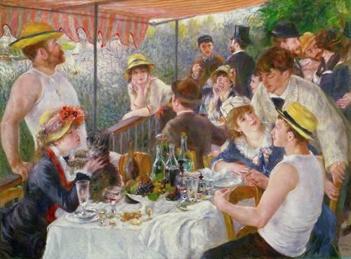 stillleben-gemaelde - Le Déjeuner des canotiers, 1881 - Renoir, Pierre Auguste