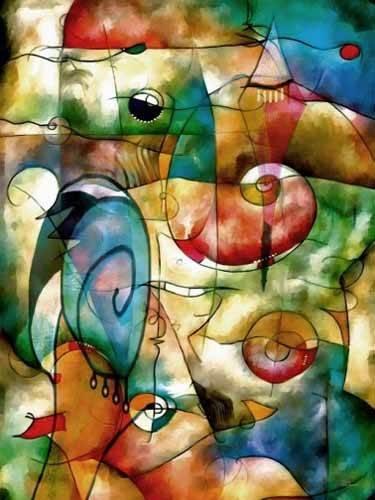 abstrakte-gemaelde - Moderno CM1278 - Medeiros, Celito