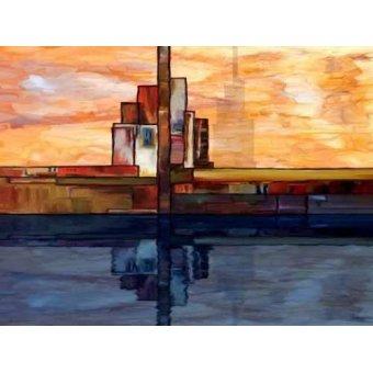 Abstrakte Gemälde - Moderno CM1795 - Medeiros, Celito
