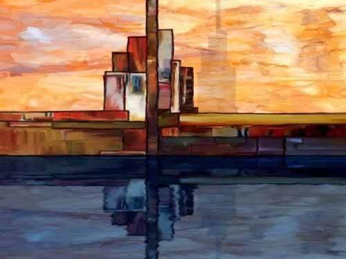 abstrakte-gemaelde - Moderno CM1795 - Medeiros, Celito