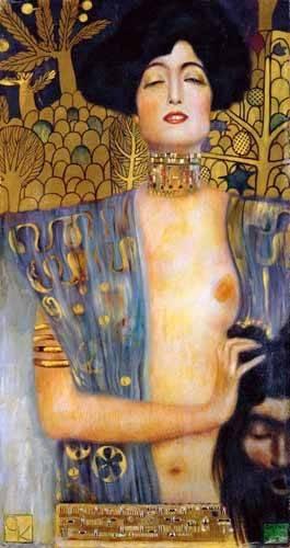 portraetgemaelde - Judith II - Klimt, Gustav