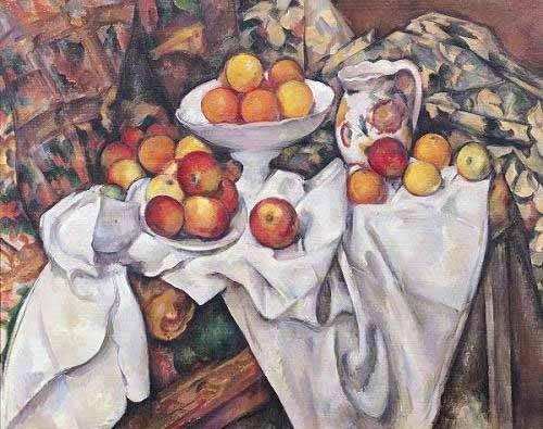 stillleben-gemaelde - Pommes et oranges, (1895-1900) - Cezanne, Paul