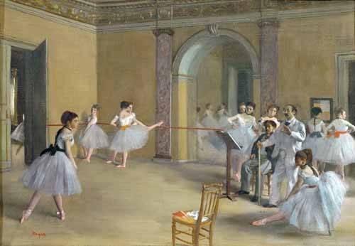 portraetgemaelde - Le foyer de danse à l'opéra - Degas, Edgar