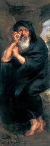 portraetgemaelde - Heráclito, el filosofo que llora - Rubens, Peter Paulus