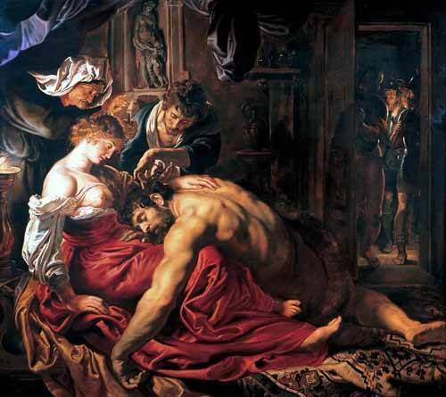 portraetgemaelde - Sansón y Dalila - Rubens, Peter Paulus