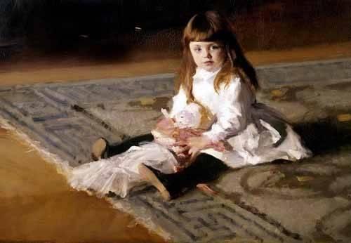 portraetgemaelde - Los hijos de Edward D. Boit - Sargent, John Singer