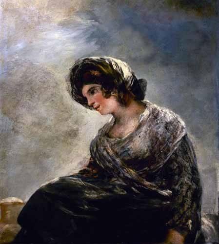 portraetgemaelde - La lechera de Burdeos - Goya y Lucientes, Francisco de