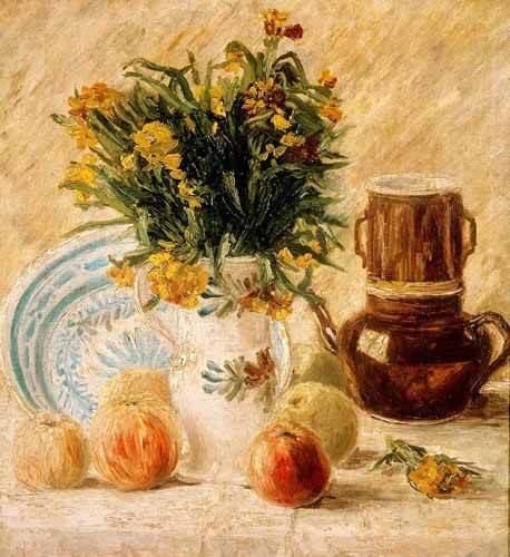 stillleben-gemaelde - Stilleben. Um 1887 - Van Gogh, Vincent