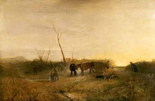 landschaften-gemaelde - Mañana glacial - Turner, Joseph M. William