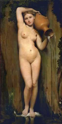 portraetgemaelde - Der Brunnen - Ingres, Jean-Auguste-Dominique